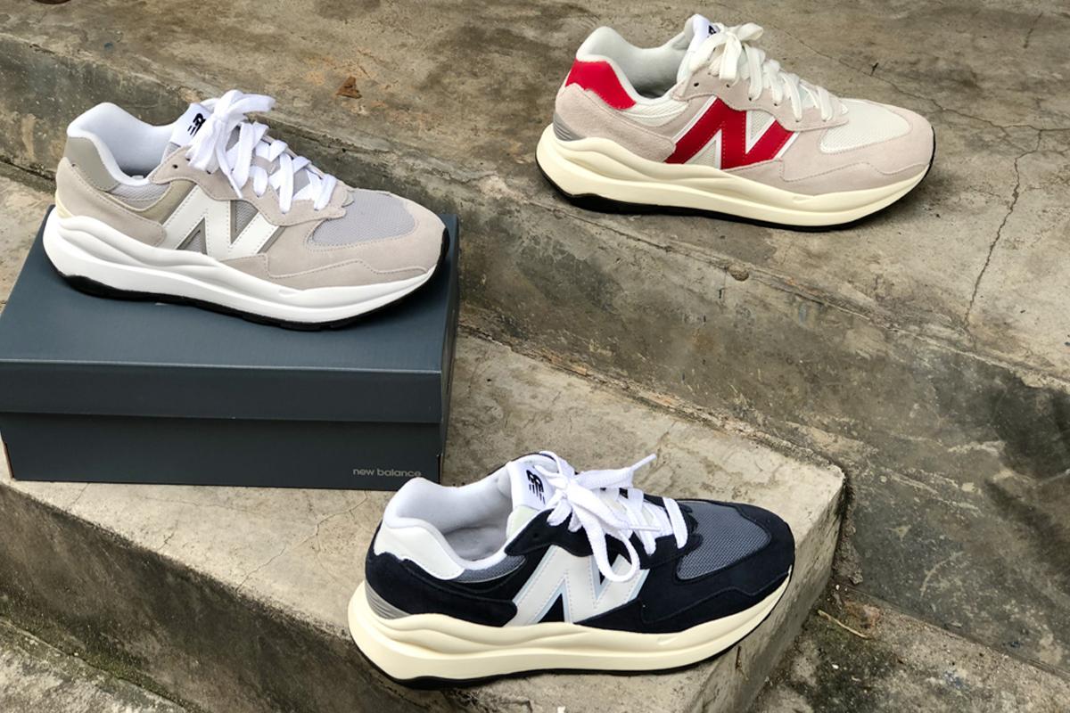 รองเท้าเข้าใหม่ประจำสัปดาห์ New Balance 5740 ที่ได้รับแรงบันดาลใจมาจากโมเดลสุดคลาสสิคอย่าง 574